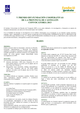 Folleto sin Cajamar - Instituto Universitario de Derecho del Transporte