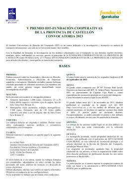 Folleto sin Cajamar - Instituto Universitario de Derecho del Transporte