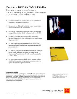 Folleto Pel. TMG v2 - TAQ Sistemas Médicos