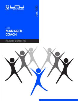 MANAGER COACH - Universidad Adolfo Ibáñez