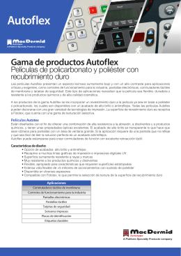Autoflex - MacDermid Autotype