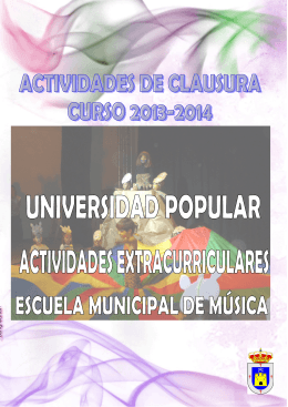 Folleto Clausura