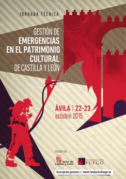 Folleto Jornada - Patrimonio Cultural de Castilla y León