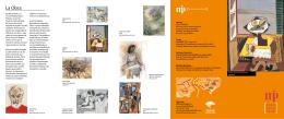 Museo Peinado – Folleto en Español