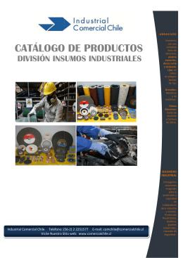 Folleto - División Insumos Industriales ICCH