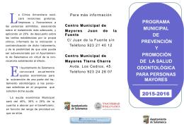 folleto programa prevencion y promoción de la salud