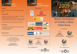 folleto 09:AETOS - Colegio de Ingenieros de Caminos, Canales y