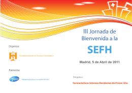folleto jornada bienvenida sefh 2011 1