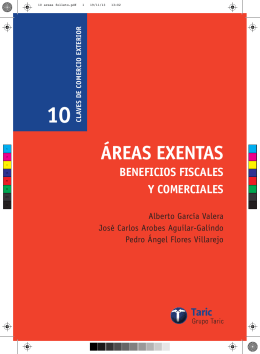 10 areas folleto