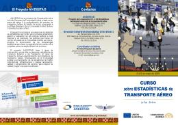 folleto tira transporte aereo