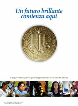 © 2006, The Regents of the University of California Para ordenar
