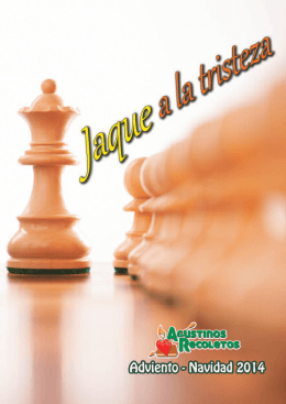 Jaque a la tristeza - Agustinos Recoletos