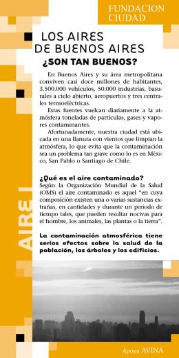 AIRE I - Fundación Ciudad
