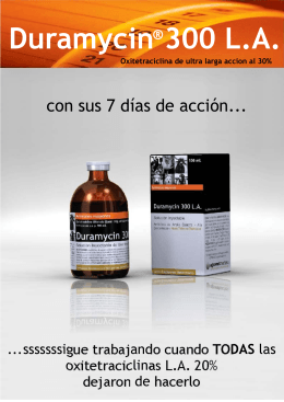 Folleto comercial - Vetermex Animal Health SA de CV