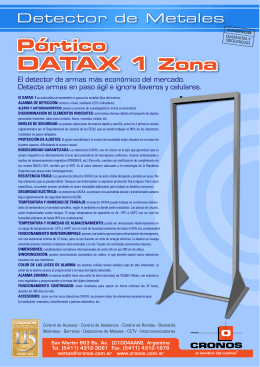 Folleto Datax