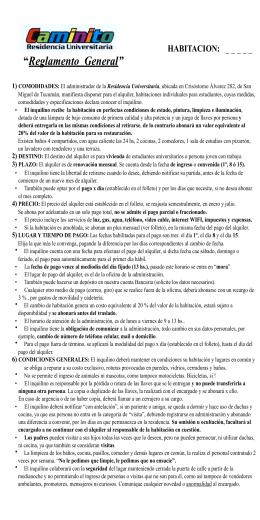 Reglamento Caminito 2013 - oficio