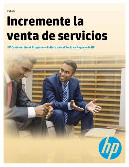 Incremente la venta de servicios