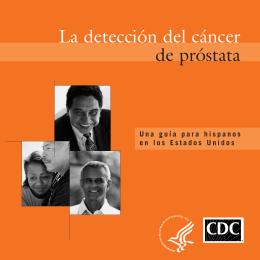 La detección del Cáncer de Próstata