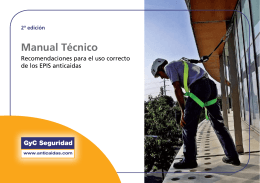 Manual Técnico - Anticaidas.com