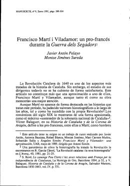 Francisco Martí i Viladamor: un pro-francés durante la Guerra