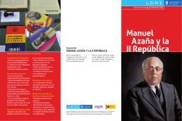 Manuel Azaña y la II República