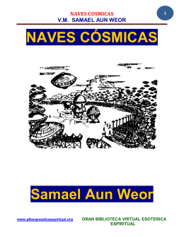 NAVES CÓSMICAS Samael Aun Weor