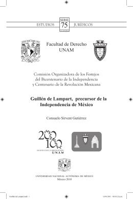 Guillén de Lampart, precursor de la Independencia de México