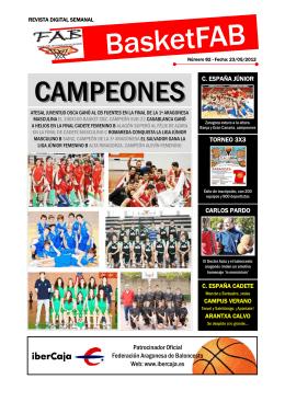 revista 82 - Federación Aragonesa de Baloncesto