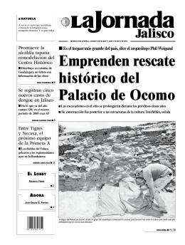 Emprenden rescate histórico del Palacio de Ocomo