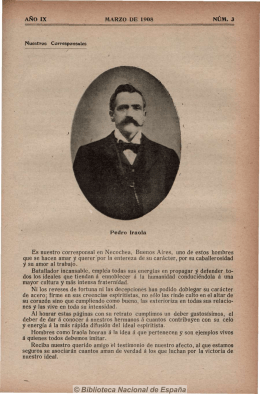 Luz y unión 19080300 - Federación Espírita Española