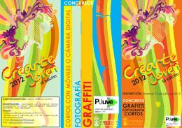 Folleto Crearte Joven 2012