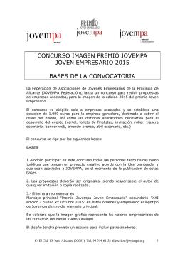 CONCURSO IMAGEN PREMIO JOVEMPA JOVEN EMPRESARIO
