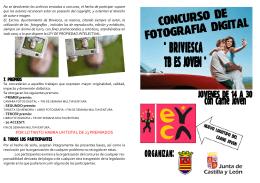 FOLLETO DEL CONCURSO DE FOTOGRAFIA.pub