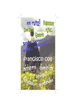 folleto ruta padre coll