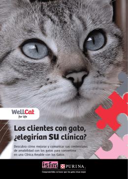 Los clientes con gato, ¿elegirían suclínica?