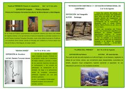 EXPOSICIÓN Conjunta : Pintura y Escultura
