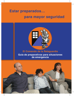 Estar preparados… para mayor seguridad
