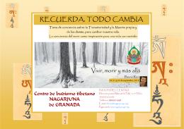 2013_julio-folleto Rizzi - Centro Nagarjuna Granada