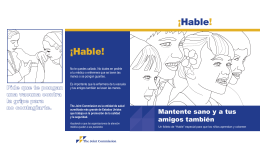 ¡Hable! ¡Hable! - Joint Commission