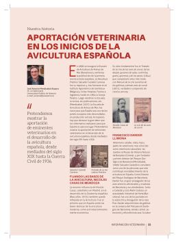 aportación veterinaria en los inicios de la avicultura española