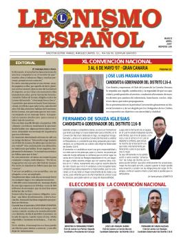 Periódico LEONISMO ESPAÑOL