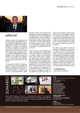 2012 Octubre-Diciembre - Colegio Oficial de Veterinarios de Granada.