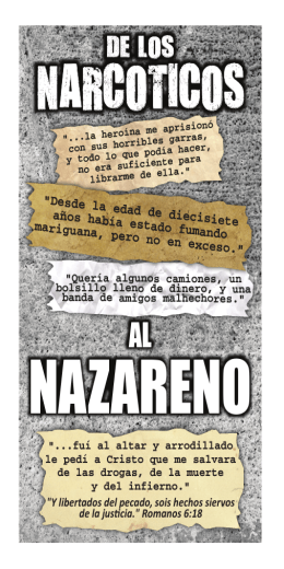 NAZARENO - Fellowship Tract League