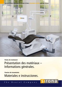 Materiales e instrucciones generales