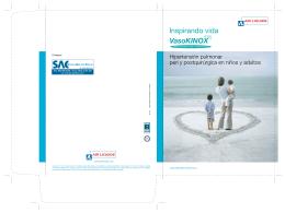 Folleto VasoKINOX - Air Liquide Medicinal