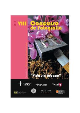 Folleto Concurso vida sin tabaco 2014