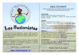 folleto de presentacion.