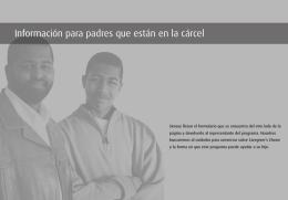 Información para padres que están en la cárcel
