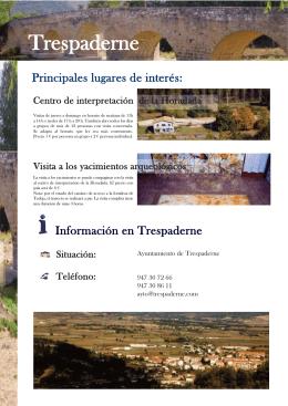 FOLLETO-TRESPADERNE:Maquetación 1.qxd