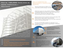 Descargar Folleto - TEMSA Tecnología Estructural Mexicana